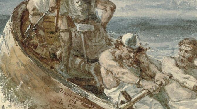 Knurrende Wikinger, weiche Sachsen und frühmittelalterliche Männlichkeit